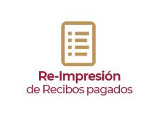 Re-Impresión de Recibos de Predial