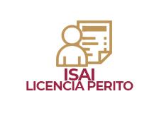 ISAI Licencia de Perito